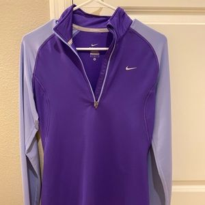Purple Nike Dry Fit Pull Over